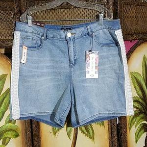 Pants - NWT!!  Pearl embellished shorts